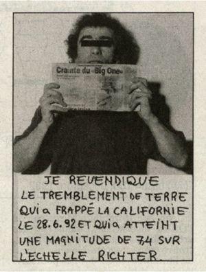 [Art] Gianni Motti - L'art de la revendication incongrue