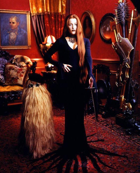 Gillian Anderson par Mark Seliger (1997)