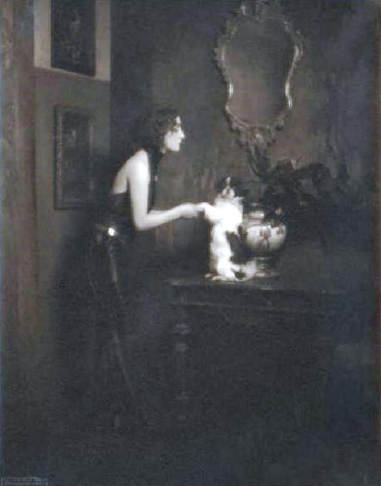 Anna Fougez par Emilio Sommariva