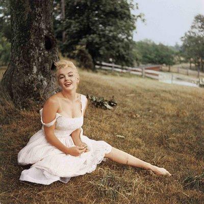 Marilyn Monroe par Sam Shaw, 1957