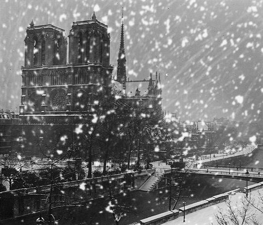 Robert Doisneau, Notre dame sous la neige